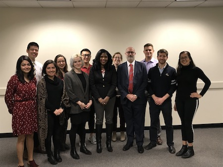 Fellows Meet with Vice Provost Caroline Laguerre-Brown and Senior Counsel Richard Weitzner about Academic Freedom at GW