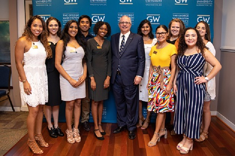 image of Presidential Fellows from 2020 and 2021 cohorts