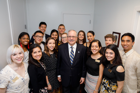 The Fellowship Celebrates Graduating Presidential Fellows and Welcomes a New Cohort
