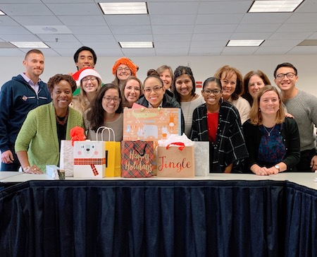 Season's Greetings: Fellows' Secret Snowflake gift exchange