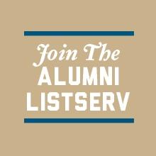 Join the alumni listserv