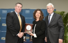 Pascale Receives Alumni Outstanding Service Award