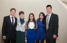 2016-2018 Cohort at Commencement Reception