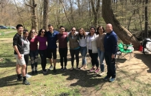 Current and Alumni Fellows Gather over Food and Fellowship at Rock Creek Park