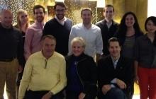 PAFs, PAF Alumni, PAT Advisors, and the Ferris' at the Lindsey Ferris Gymnastics Meet