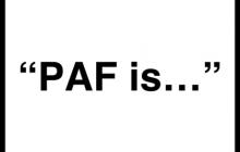 PAF is