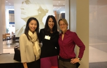Heather Malkin Nesle with Shirley Hsieh and Chelsea Lenhart