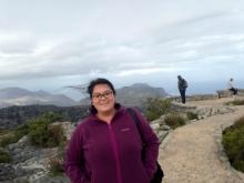Katie on Table Mountain